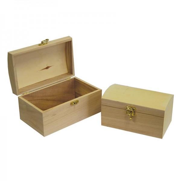 Κουτιά ξύλινα σετ 3τεμαχίων 20x12x10εκ., 17x10x9εκ., 14x7.5x7εκ.