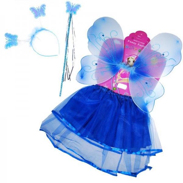 Στολή πεταλούδας ΜΠΛΕ, 3-6χρονών