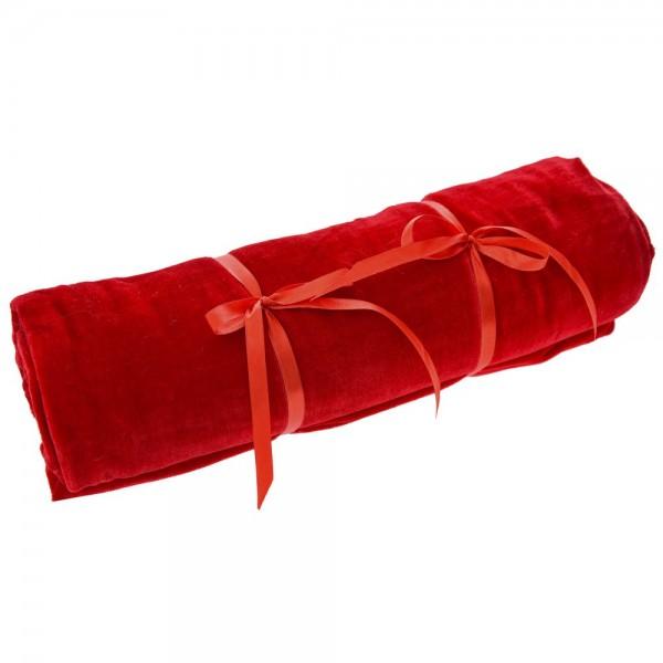 Ύφασμα βελούδο 150cmx3m Κόκκινο