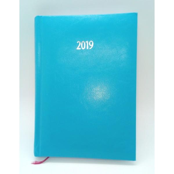 Ημερολόγιο ημερήσιο δετό, ΓΑΛΑΖΙΟ 12x17εκ