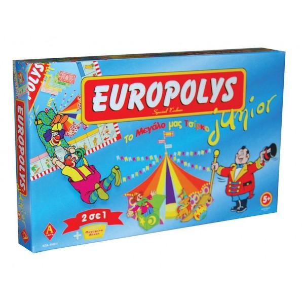 Επιτραπέζιο παιχνίδι Europolis Junior Υ5x41x25εκ.