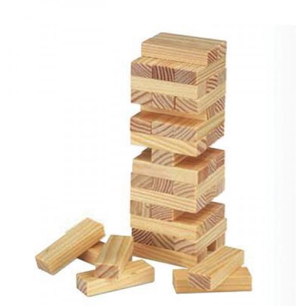 Επιτραπέζιο Jenga ξύλινο 45 τεμαχίων Υ16x5x5εκ.