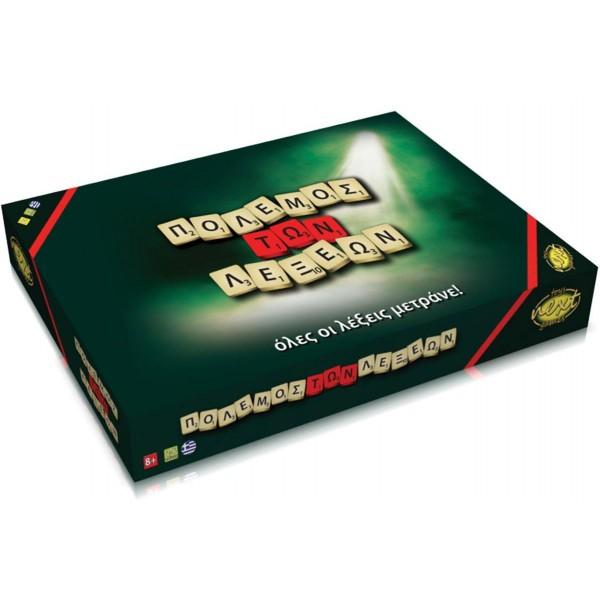Eπιτραπέζιο παιχνίδι  Πόλεμος των λέξεων  Υ9x24,5x23εκ