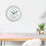 Ρολόι τοίχου ξύλινη οψη με τζάμι, ΜΟΝΟΚΕΡΟΣ 30εκ