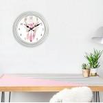 Ρολόι τοίχου ξύλινη οψη με τζάμι, ΟΝΕΙΡΟΠΑΓΙΔΑ 30εκ