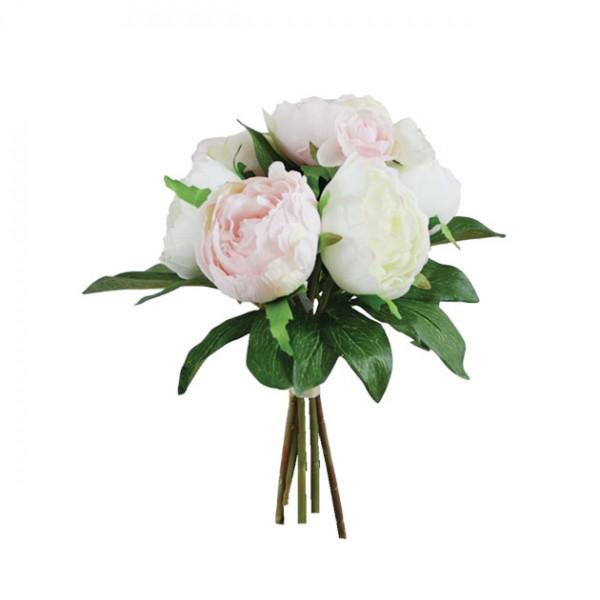 Λουλούδια μπουκέτο   ΡΟΖ  31Χ25εκ